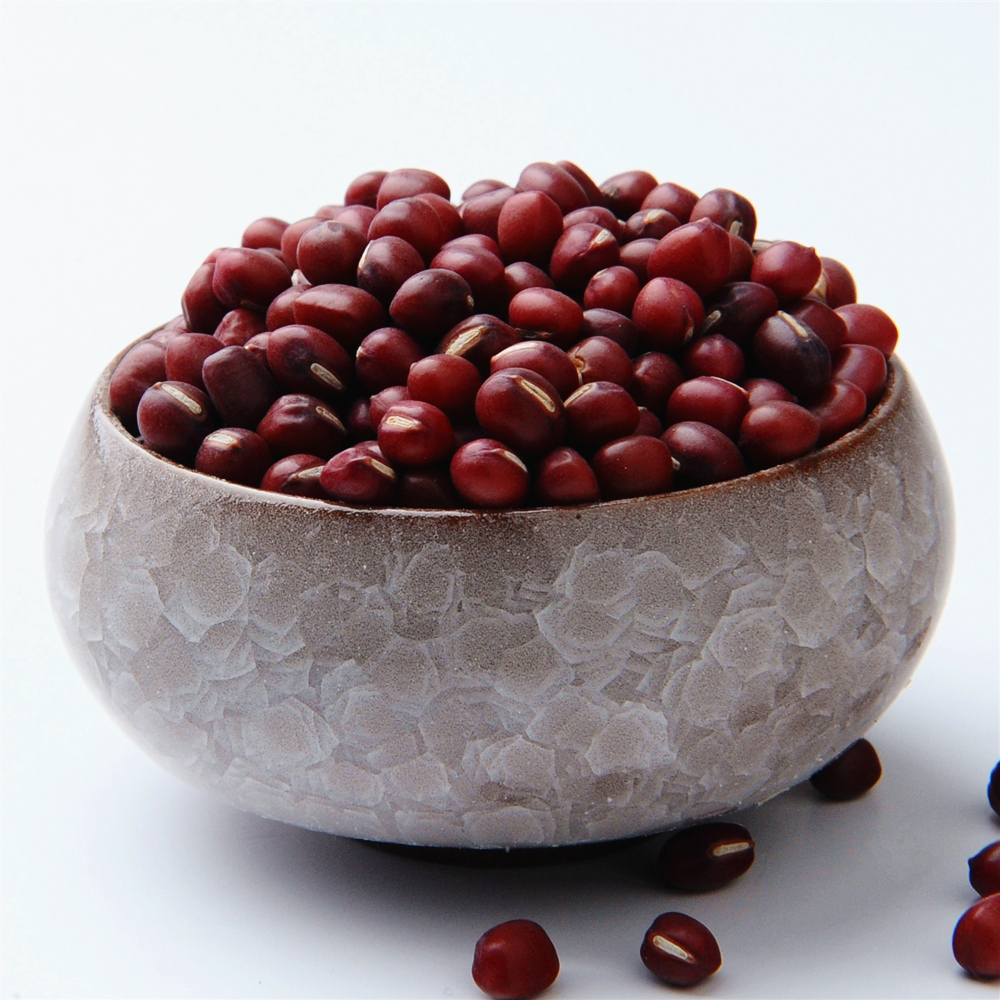 Manshan fragrant organic beans 450g porridge yield northeast also called northeast small red beans red beans with