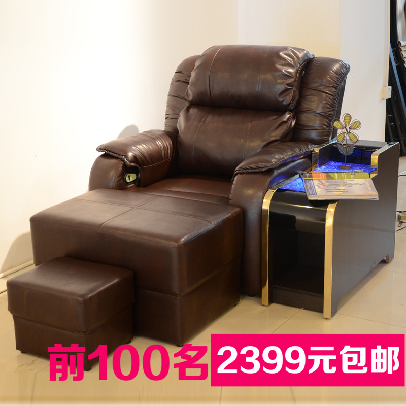 Manual electric foot sofa bed sofa bed sofa chairs lounge chair beauty bed beauty bed massage sauna nail foot sofa sofa chair
