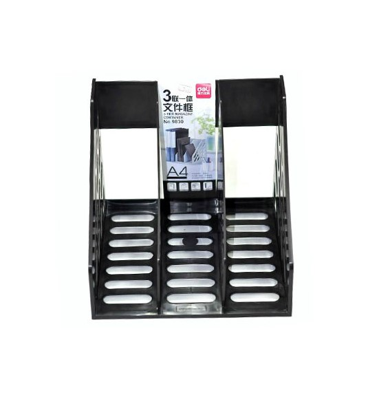 Many provinces shipping deli 9830 triple one 3 column file box file frame file column file frame data frame