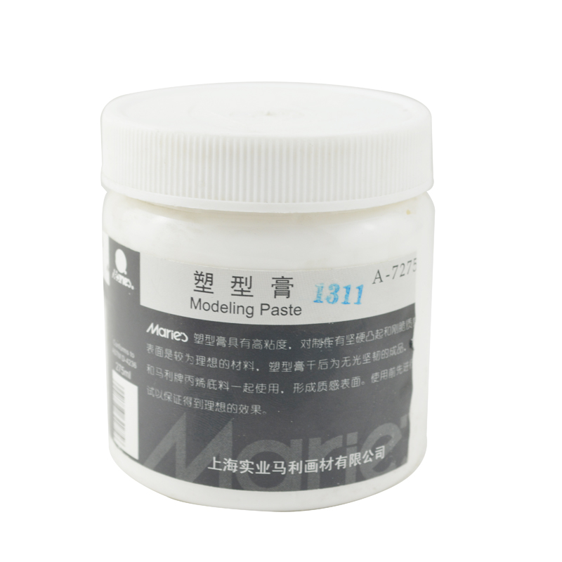 Marley propylene propylene shaping cream A-7275D texture styling cream 275 ml acrylic paint media seasoning