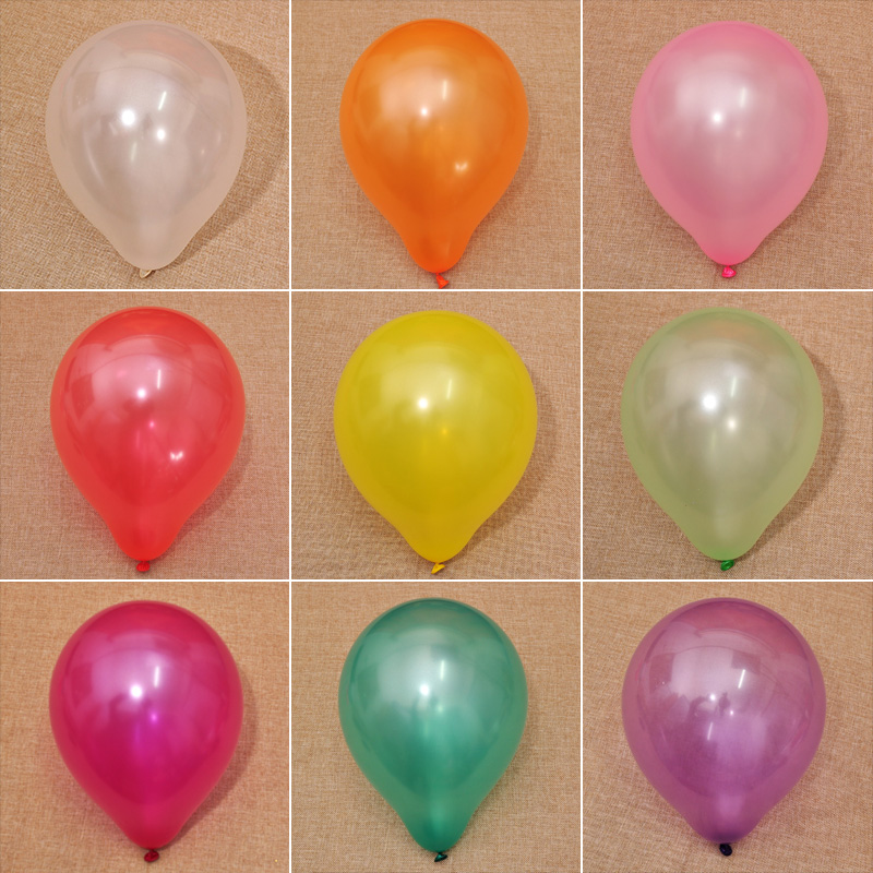 Married vermt thick pearl balloons 100 installed creative wedding ceremony arranged marriage room decoration festive wedding supplies