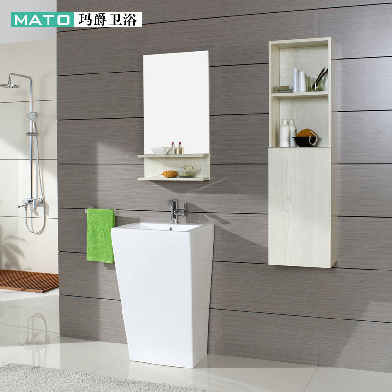 Mato ma jue whole bathroom piece piece ceramic wash basin pedestal basin wash basin art basin specials