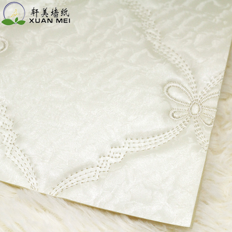 Mei xuan backdrop soft pack upscale hotel ktv backdrop clothing store with soft sponge bag embroidered soft packing material