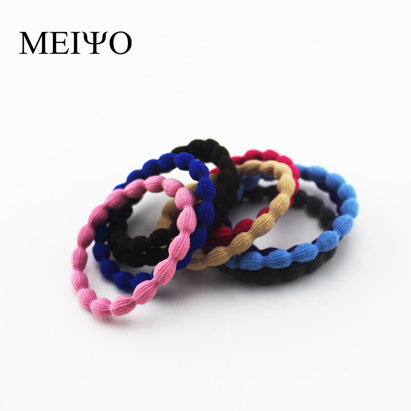Meiyodiy headdress hair accessories hair rope oujie bottoming hair ring hair accessories high elastic hair tie rubber band tousheng korean fan