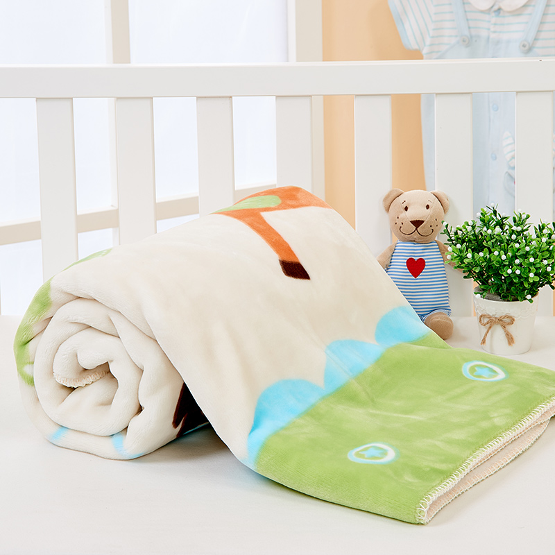 Meng po newborn baby blankets blankets baby blanket cloud autumn and winter thick cloud blanket baby blanket gift box
