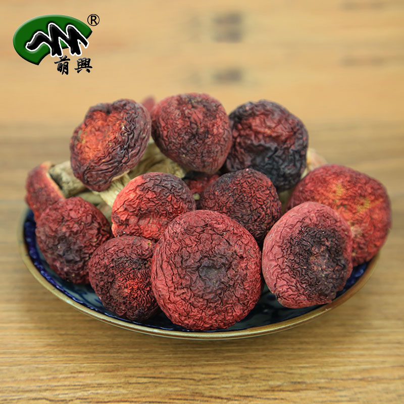 Meng xing authentic wild red mushroom red mushroom dry mushroom natural honey farm yunnan dry red mushroom red mushroom 100g