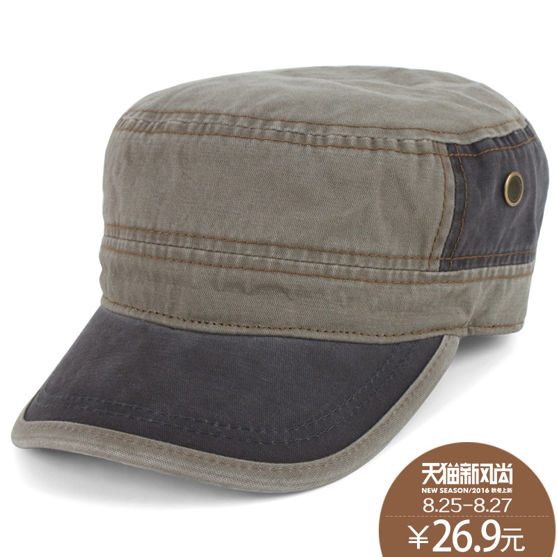 ff93f866194e1 Get Quotations · Men s spring and autumn outdoor sports cap hat korean hat  flat cap fashion hat autumn and