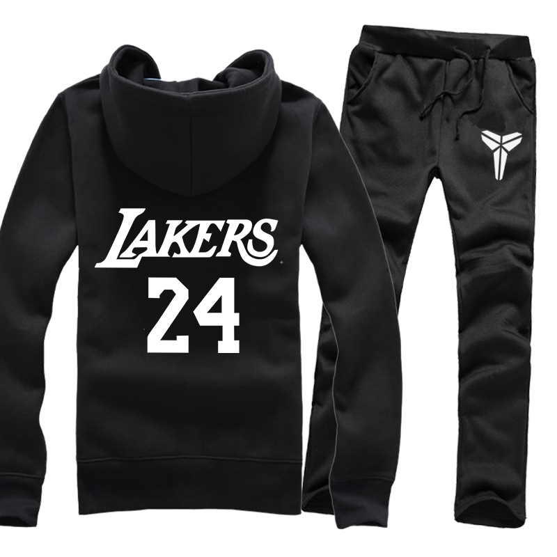 a02b9957087 ... basketball 82d32 145e6  uk get quotations mens spring and autumn  sweater suit male lakers kobe bryant jersey on 24