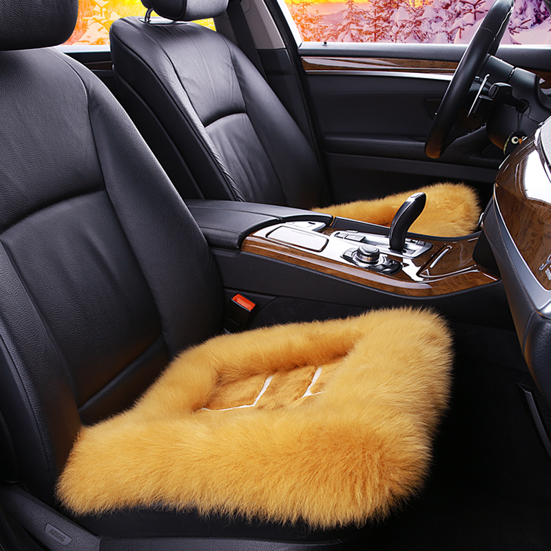 Mercedes e300l E200LE260E320L E400L three sets of plush winter car wool cushion seat cushion