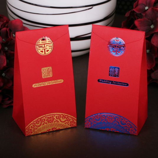 Met the love of chinese candy box creative candy bags wedding wedding supplies