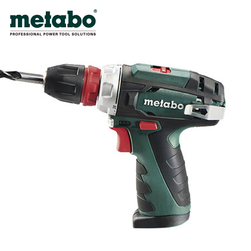 Metabo metabo PowerMaxxBS10.8V quick change lithium drill hand drill multifunction screwdriver screwdriver