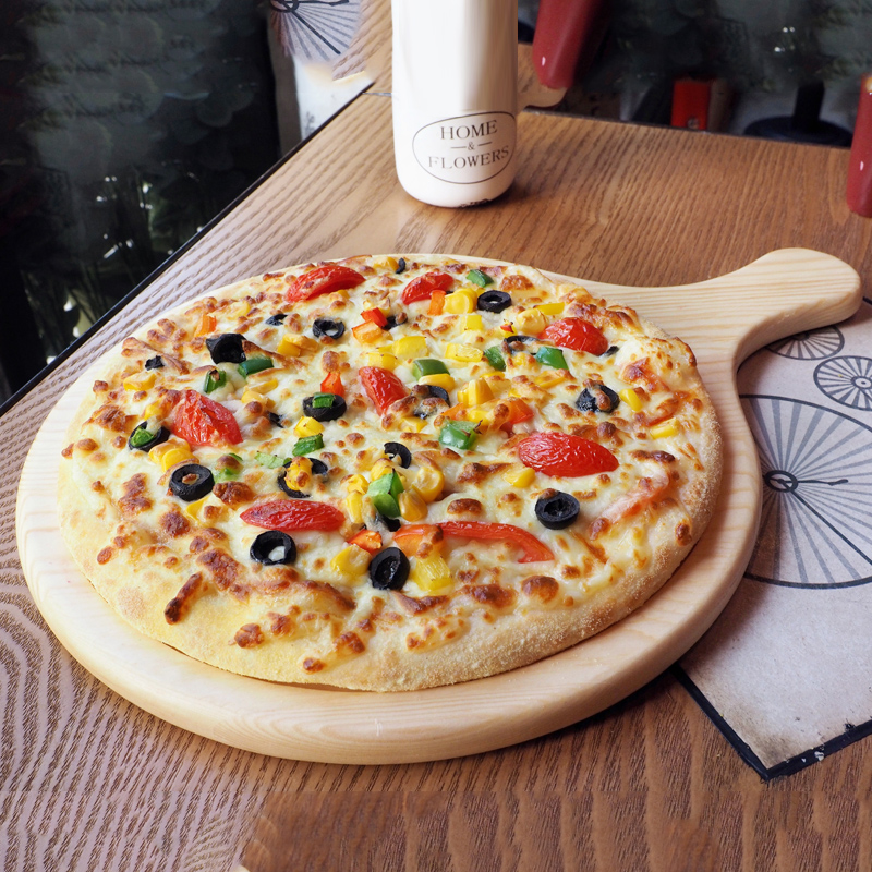 Get Quotations · Meters of wood western restaurant pizza plate pizza pizza baking utensils wood wooden plate bread plate & China Pizza Plate Set China Pizza Plate Set Shopping Guide at ...