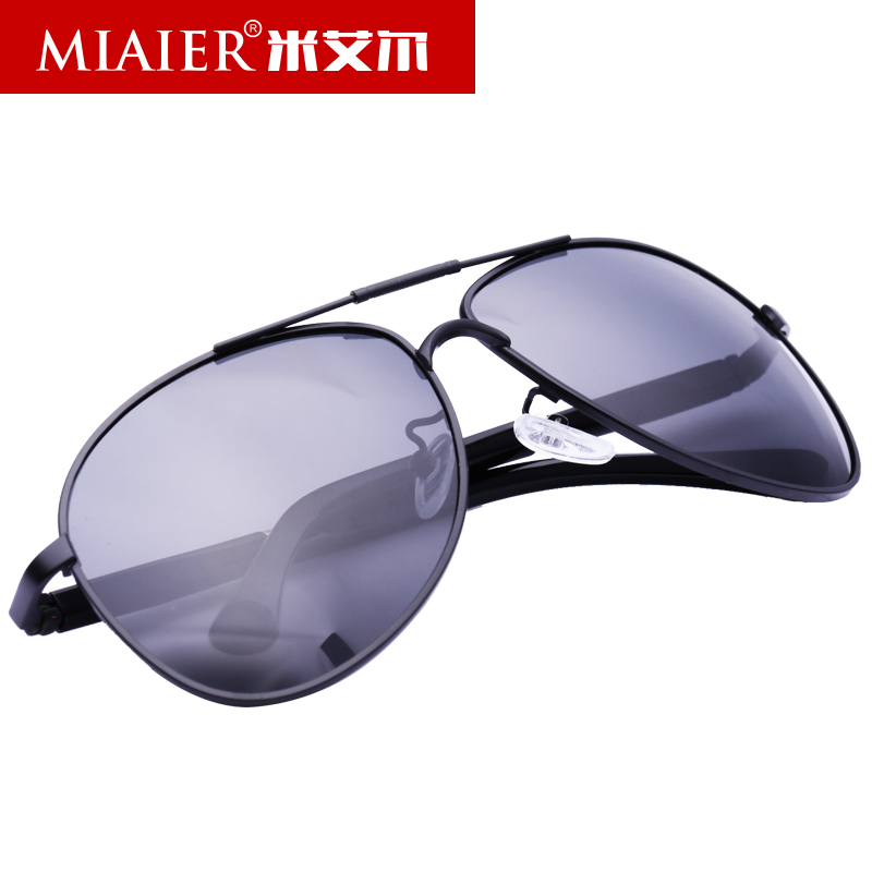 Miai er men's polarized sunglasses authentic male polarized sunglasses driver drove driving sunglasses polarizer influx of people new division