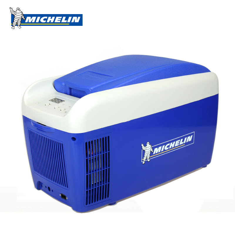 Michelin car refrigerator 20 liters freezer incubator small refrigerator mini refrigerator car carrier refrigerator crisper dual use