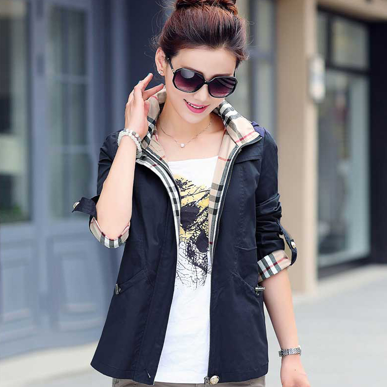 b1d14871e0ac26 Get Quotations · Middle-aged women s autumn coat 40-50-60-year-old loose