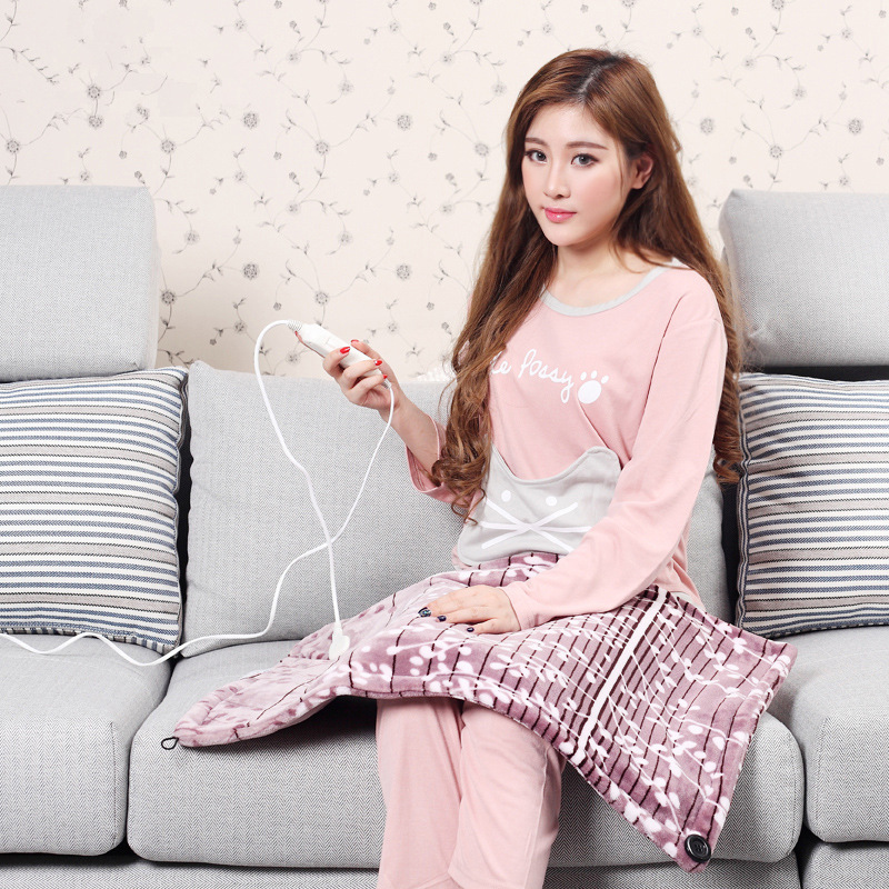 Miharu knee blanket multifunction electric heating pad cushion office heating electric heating pad feet warm hands warm treasure electric blanket to warm up