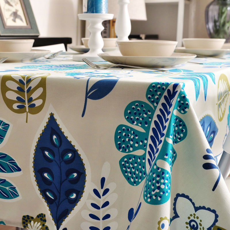 Miller Spring Impression Classic European Thickened Flower Arts Tablecloth  Fabric Coffee Table Cloth Table Cloth Tablecloths