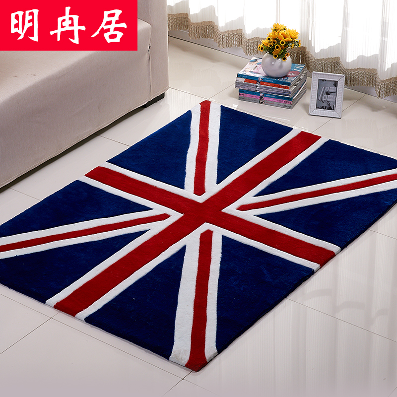 Mingran ranking british style union jack british flag carpet living room coffee table bedroom carpet sofa to do the old retro creative