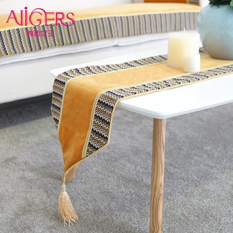 Minimalist modern table runner cushion queen exquisite fashion stitching custom table runner table cloth table runner bed flag bed end towel