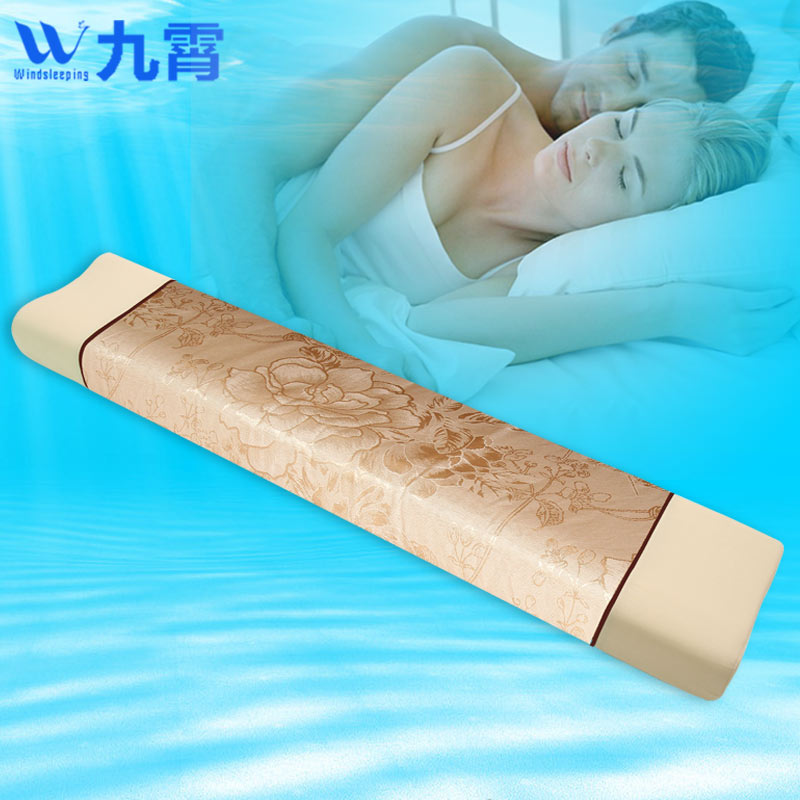 Miracle cold wire thailand natural latex pillow pillow long double pillow pillow 1.5 m 1.2 nursing pillow cervical pillow couple