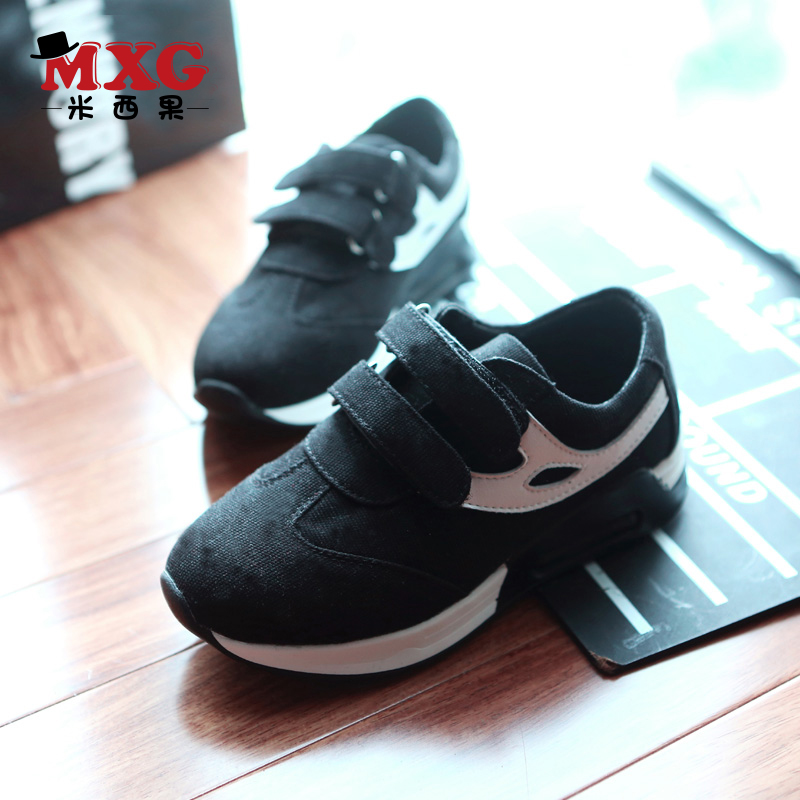 Missy fruit children shoes boys shoes sneakers spring korean version of the influx of children in child big boy casual shoes black running shoes
