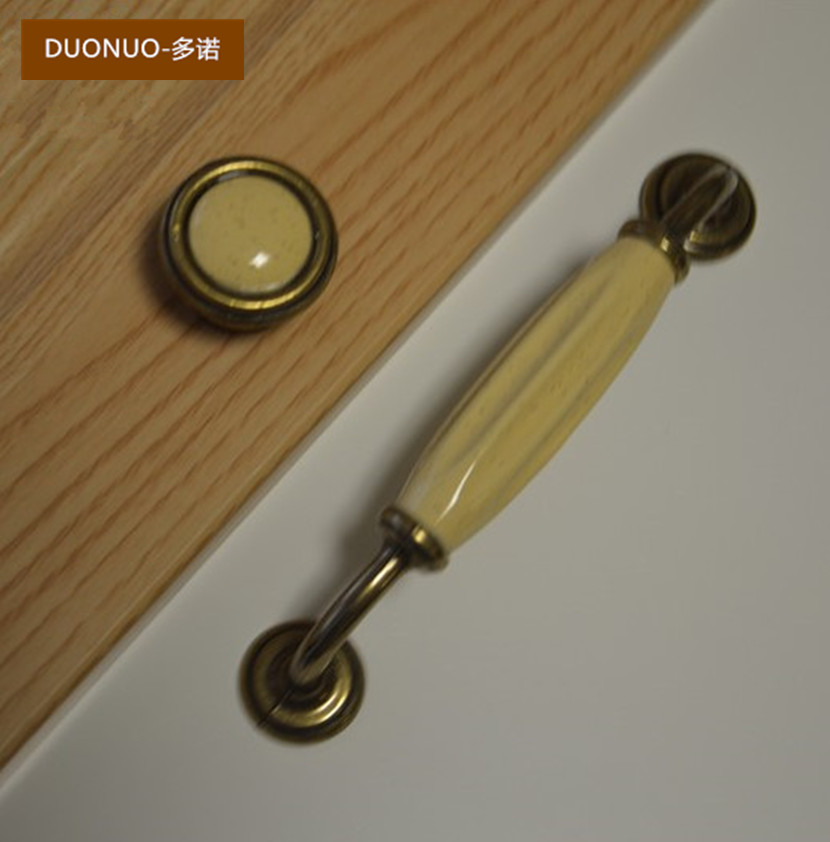 Modern minimalist ceramic round handle wardrobe cupboard door furniture drawer handles bronze contadino haplopore euclidian