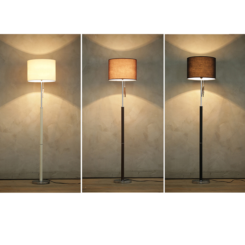 Modern minimalist living room floor lamp creative fashion nordic american ikea sofa bedroom bedside lamp standing lamp