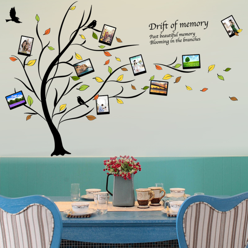 Modern minimalist photo indoor home bedroom living room wall stickers wall stickers removable decorative adhesive wall stickers