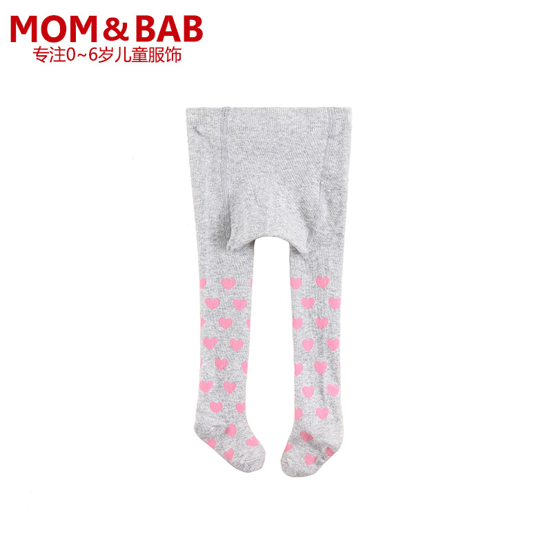 Momandbab mom enbei autumn models of child baby baby cotton knit tights pantyhose bottoming children