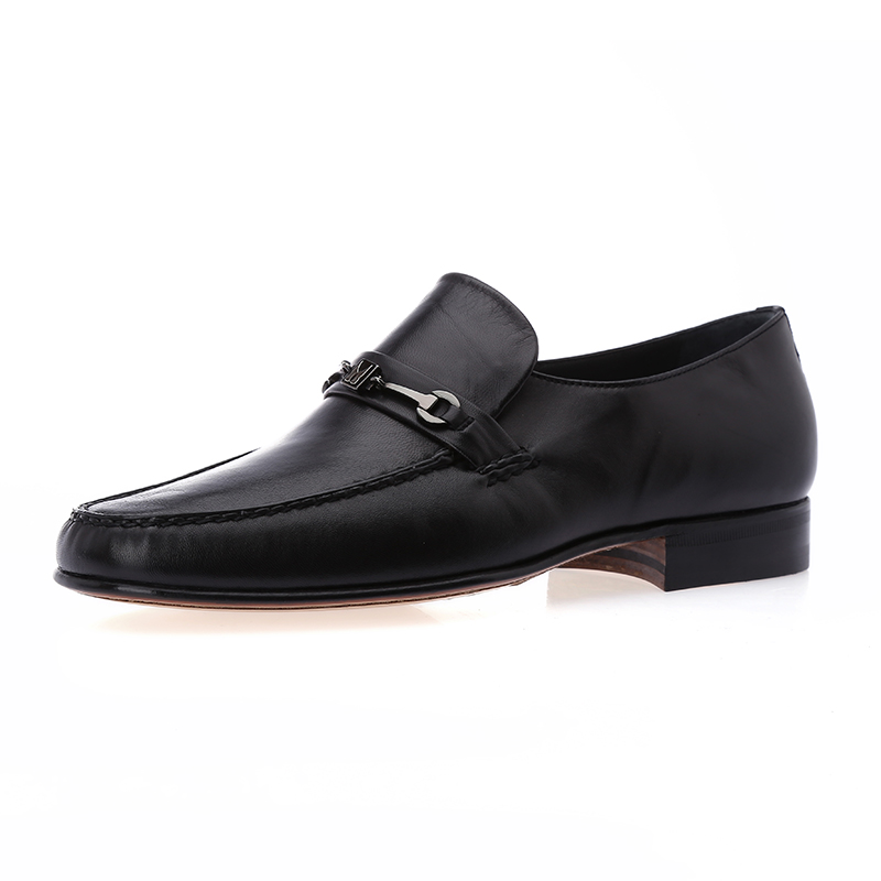 Moreschi/æ©éæ¯base authentic men's business fashion men's sheepskin leather shoes real leather foot low shoes
