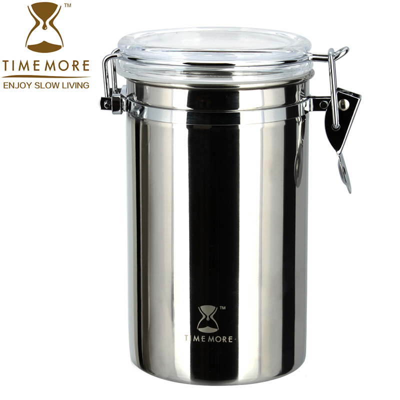 Mount tai stainless steel coffee beans sealed cans canister fresh pot of tea cans of milk storage tanks