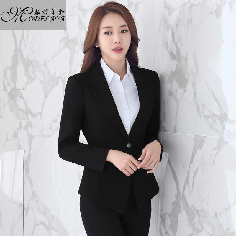 Ms. career suits ladies wear suits slim business suits trousers upscale gas quality suit overalls interview