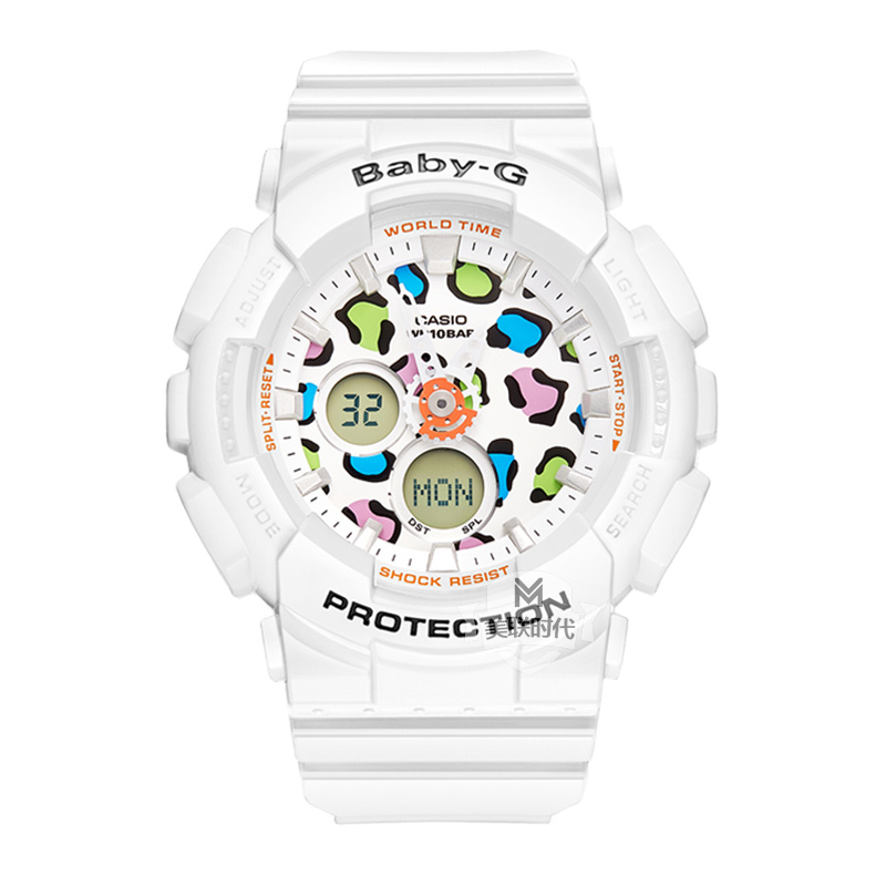 Ms. casio baby-g fashion movement waterproof electronic female form BA-120LP-7A1