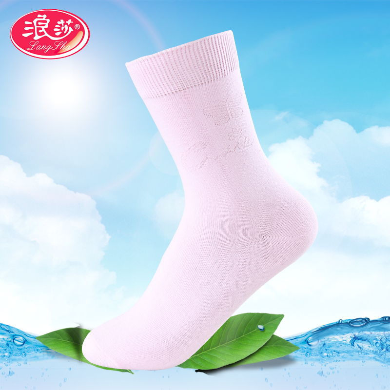 Ms. lang sha sock socks female socks soft and comfortable socks socks spring and summer fashion boutique