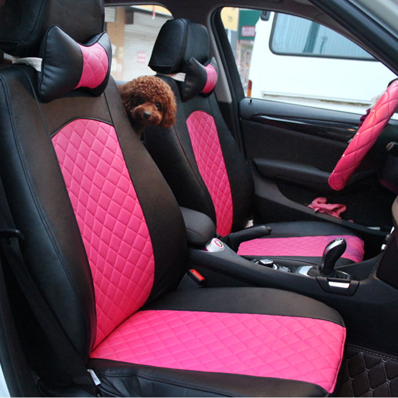 Ms. rose red fashion special seat cover seat cover seat cover bmw x1 audi q5a4 bmw x1 car seat cover seat cover