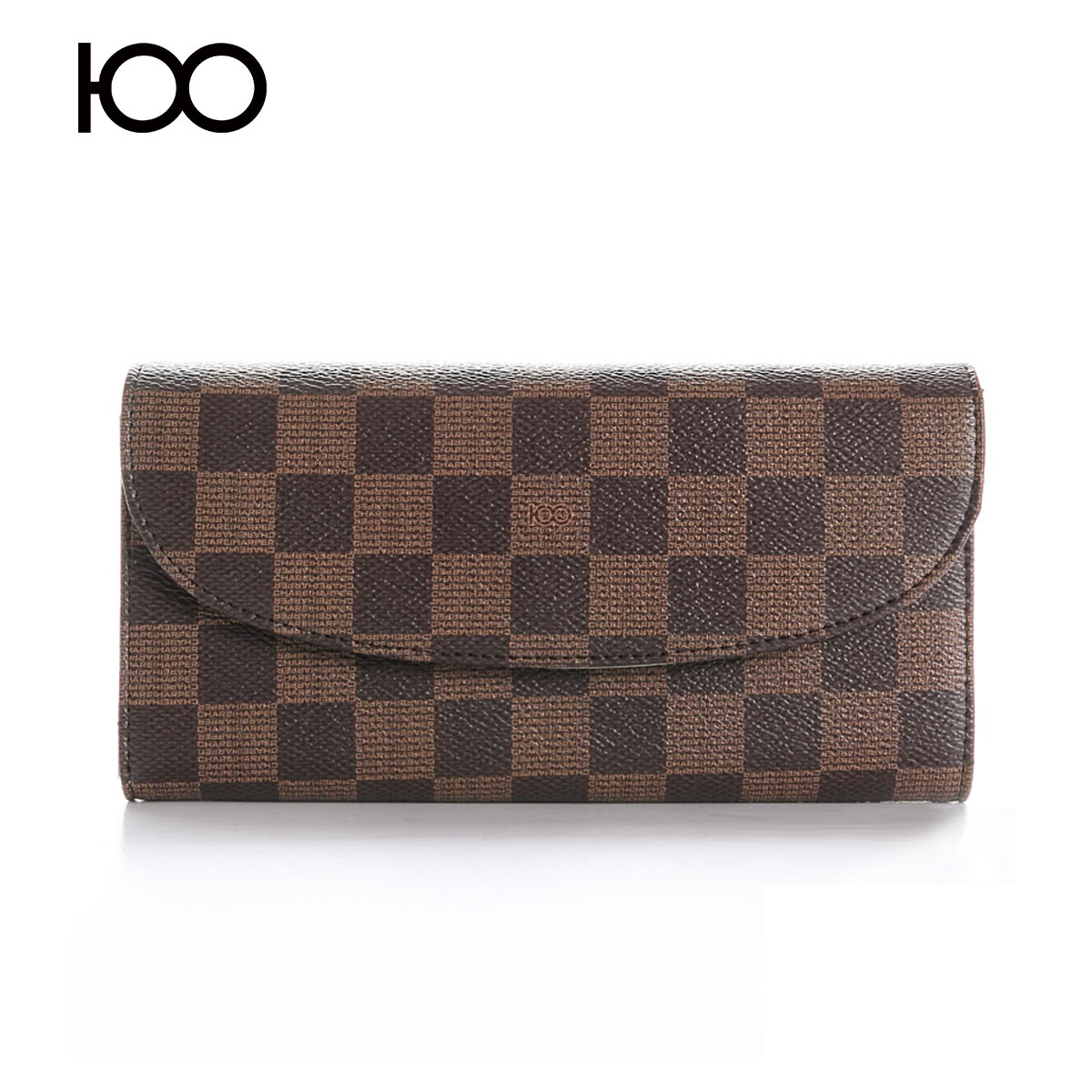 Ms. wallet female long section of the new fragrance naiha european and american women's plaid quilted leather wallet folded wallet