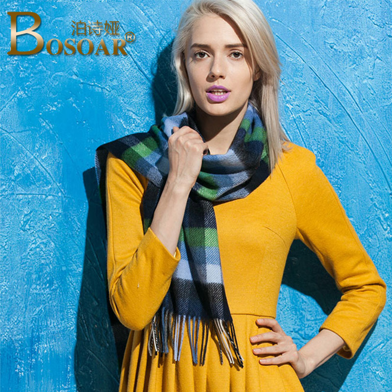 Ms. warm wool scarf fashion wild autumn Bosoar2016 qinfu comfortable flow su scarf female