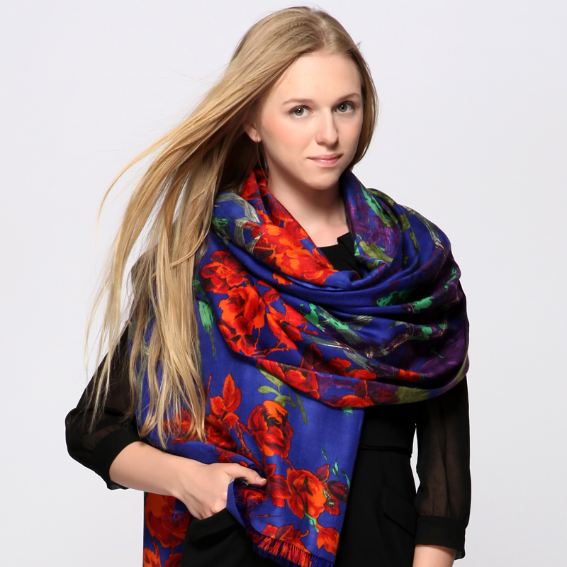 Ms. winter 300 original designs imported pashmina cashmere scarf rings cashmere shawl scarf