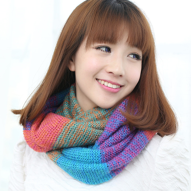Ms. winter scarves korean female scarf hedging collars korean blending thick winter autumn and winter scarf wool scarves