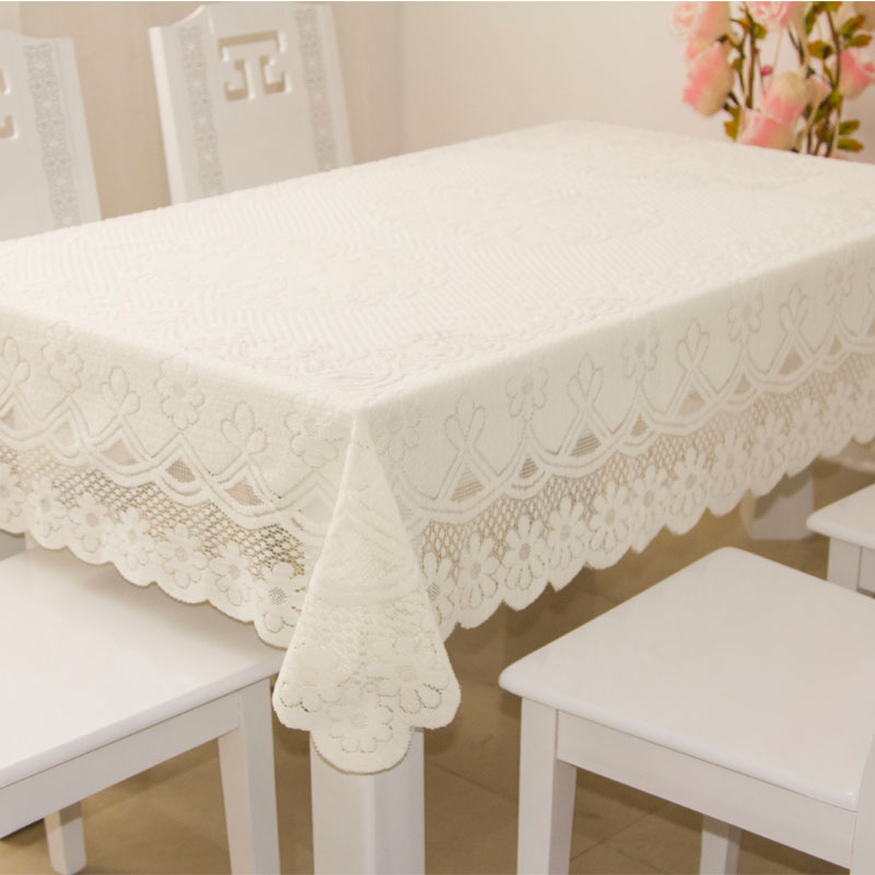 Multipurpose cloth cover refrigerator cover cloth tablecloths tablecloth table cloth cover bedside table cloth table mat sets of white