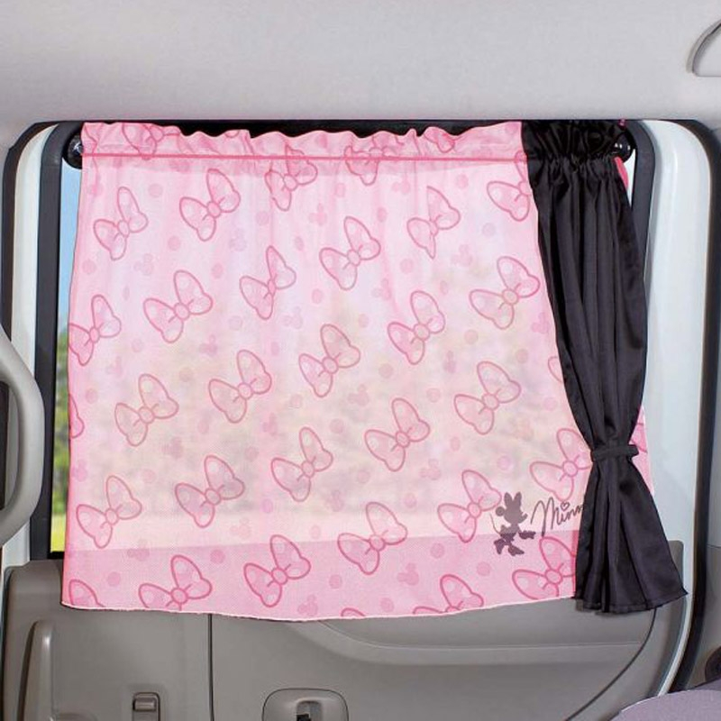 Napolex mickey sucker common side window shade cloth cartoon car sunshade curtain retractable sun side of the block