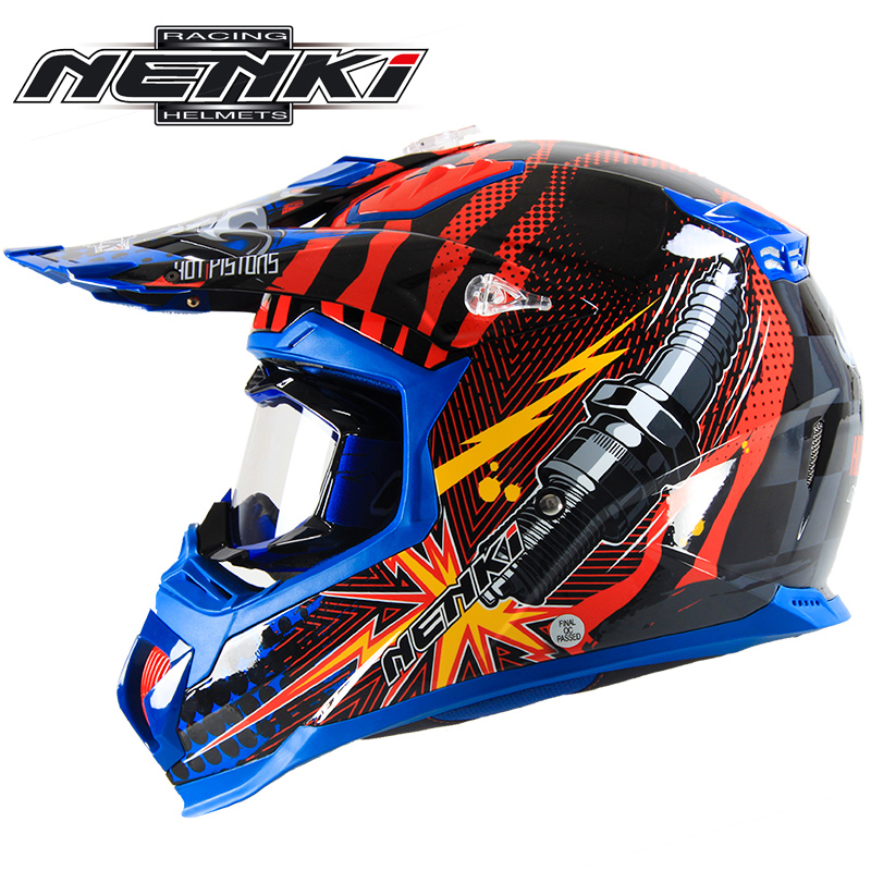Nenki motocross motorcycle racing helmet helmet to send men and women goggles summer seasons full cover style full