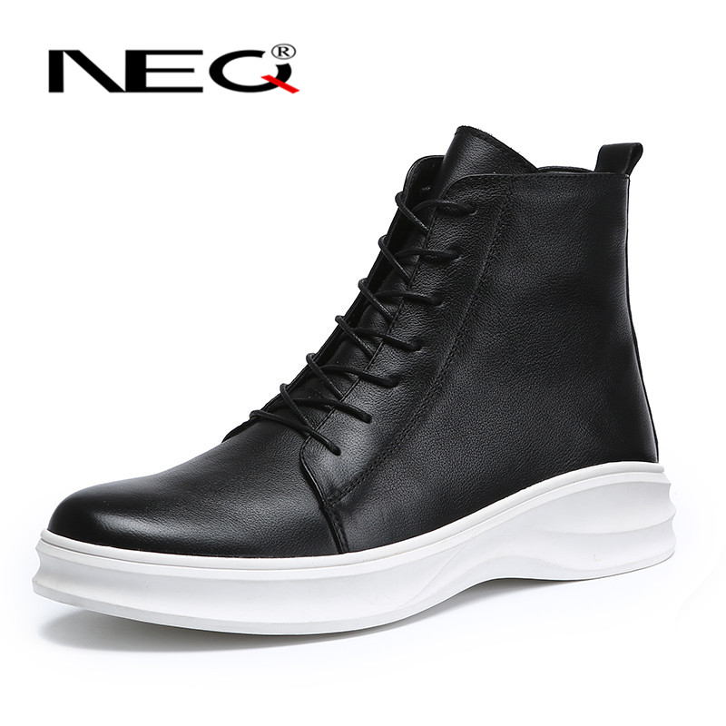 Neq shirr 2016 new fall fashion wild men in tube boots british style boots martin influx of 4223