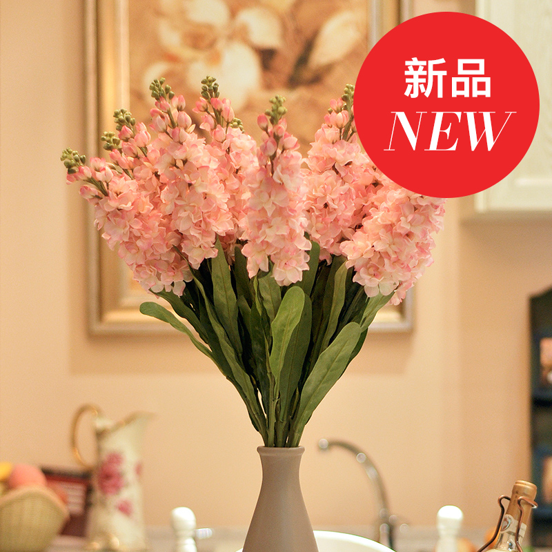 New artificial flowers artificial flowers of springtime donovan gillyflower yellow pink jane european pastoral living room decorative home accessories