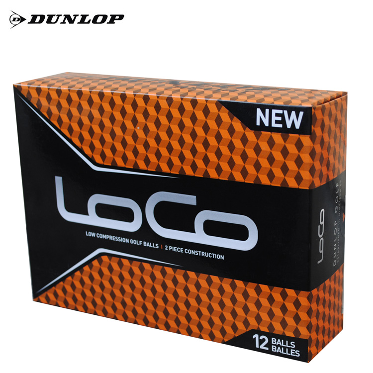 New authentic dunlop golf ball golf ball distance two layer game ball
