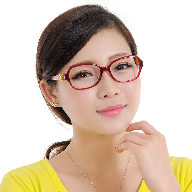 New authentic ports/ports female models fashion tide plate full frame glasses frame myopia frames pof13407