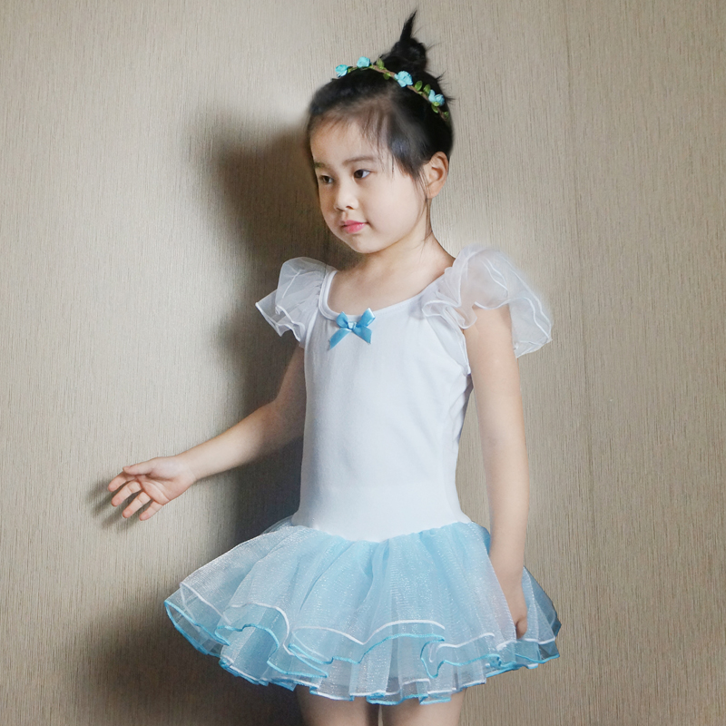 New children's clothing girls dance skirt ballet skirt children dance clothes and dance clothes hanging with a princess dress tutu skirt