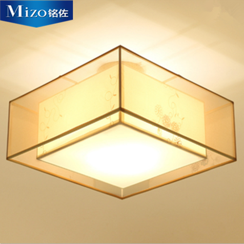 New chinese led square ceiling lamp modern living room lamps study creative minimalist bedroom room lamps chinese restaurant