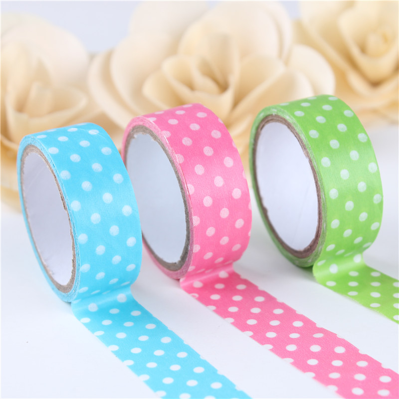 New korean dot fashion accessories and decorative paper tape handmade diy album album essential tool for treasure treasure