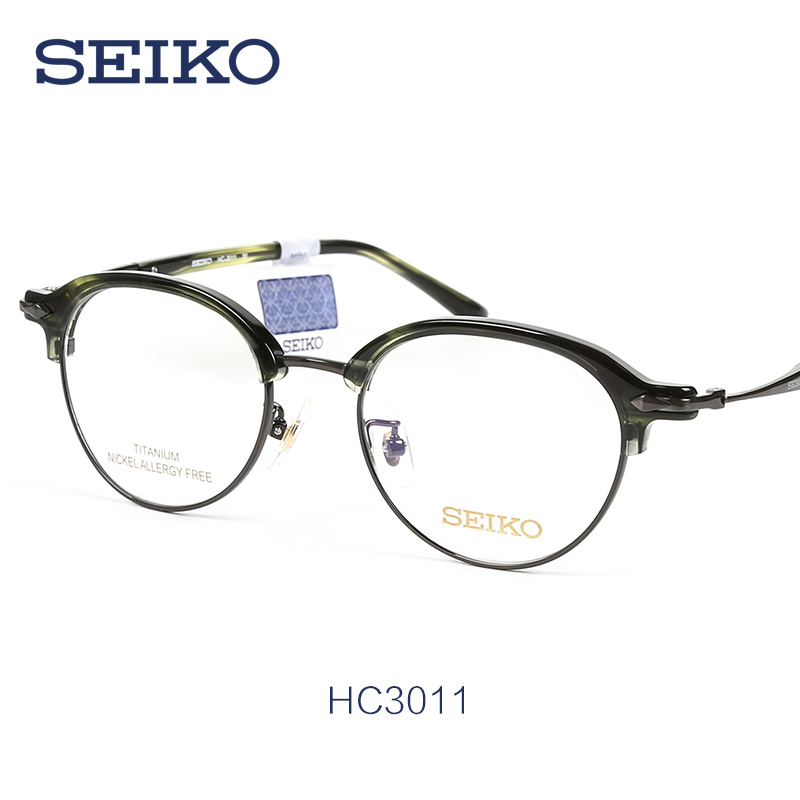 eb47091f6ad Get Quotations · New retro eyeglass frames seiko titanium ultralight  titanium full frame glasses frame glasses frame myopia frames